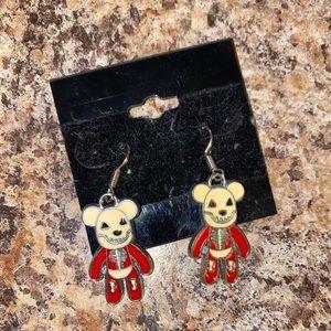 Scary Bear Earrings